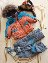 Зимний костюм для мальчика 1,5 - 3 годика