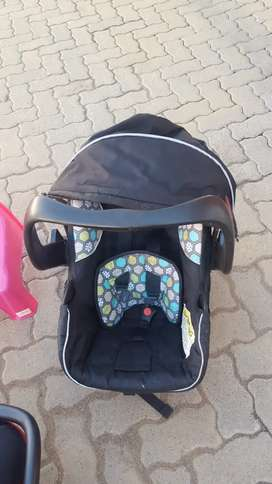 3 x Baby carry chairs