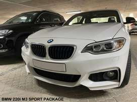 BMW 2 Series Coupe 220i Coupe M3 Sport Steptronic