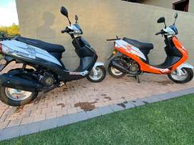 Swift 150 Scooters x 2 Big Boy for sale