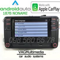 VW Volkswagen/ RCD330+ /NONAME/ ANDROID AUTO/ CarPlay / Русский язык