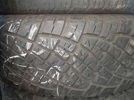 Tyres good used from R100 and we also do new tyres and rim