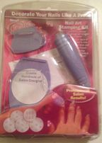 Zestaw stempli do manicure