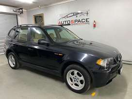 BMW X3 2.0D Manual Low KM Excellent