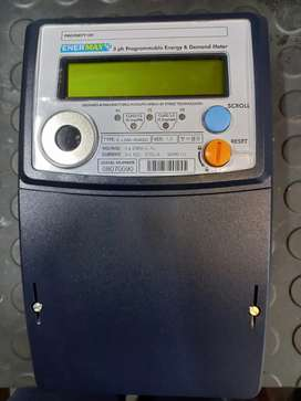 3 phase electrical meter