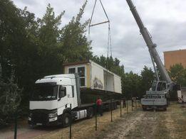 Usługi transportowe zestaw 24 tony platforma