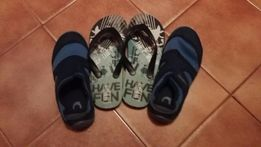buty do wody + japonki 32