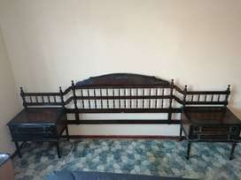 Antique Headboard 150 years old