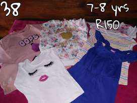 Kids colthing 7-8 yrs