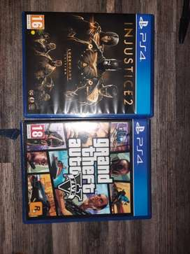 Injustice 2 and GTA 5 R 300 each