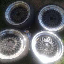 Four 17inch Max for any car with 4 holes