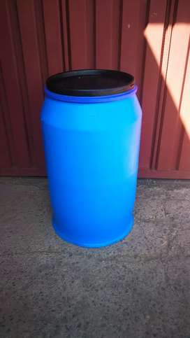 210 litre open top drums
