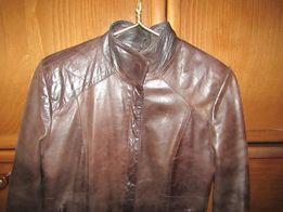 Модная молодежная курточка куртка из натуральной кожи. Турция