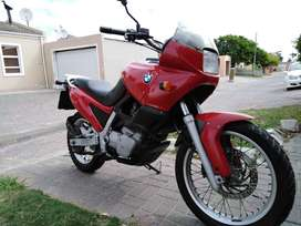 Bmw F650 Funduro Red