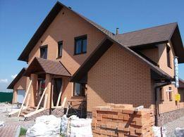 Кровля крыши. Строительство домов под ключ. Фасадные работы