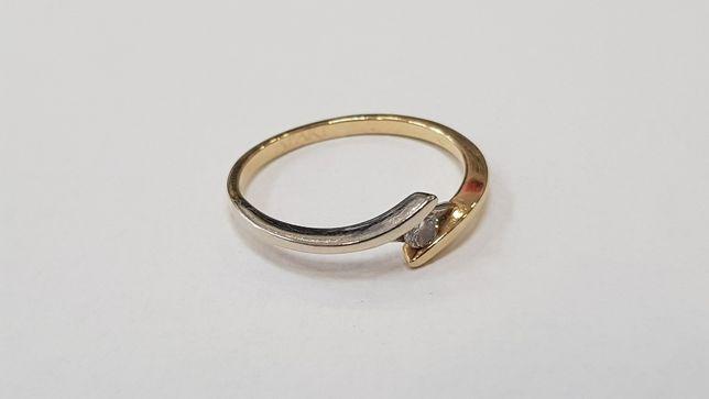 Apart! Przepiękny pierścionek + brylant 0.04 CT/ 585/ 1.39g/ R10 Gdynia - image 2