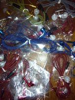 НАУШНИКИ шнурованные вакуумные очень ПРОЧНЫЕ 3.5 , 2.5 навушники
