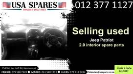 Jeep Patriot 2.4 MK 2007-17 used interior spare parts for sale
