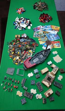 Mega blocks and other toys