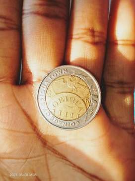 Its an Old coin R5