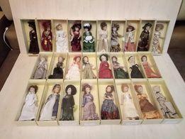 Коллекция фарфоровых кукол.