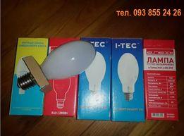 Лампа ртутно-вольфрамовая 250 Вт ДРВ, ДРЛ