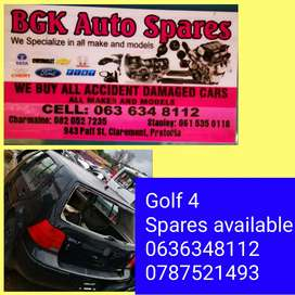 Vw golf 4 spares available call us now