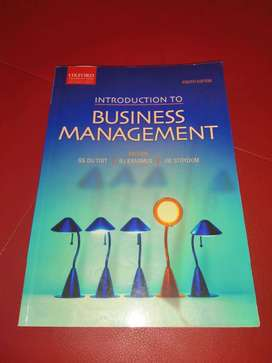 Intro to Businesse management 8th edition