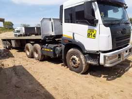 Looking for cash  Tri -Axle trailer loads around SA