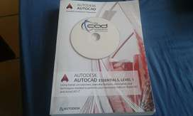 AutoCAD drafting book with setup disc