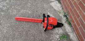 Brushcutter and chiansaw