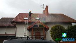 Czyszczenie mycie dachów Warszawa dachu dachówki kostki brukowej