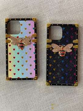 Corner bee bling case for iphone