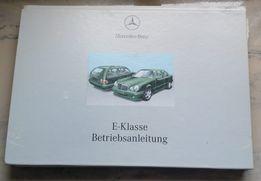 Instrukcja obsługi W210 lift Mercedes E Klasa