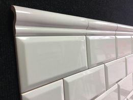 Plytki dekoracje kafle Tamoe London Białe / Bianco 5x20 MIRANI 8.00zł