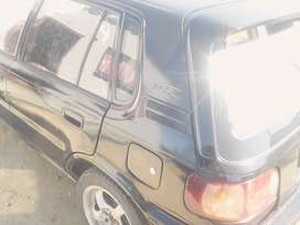 black colour with radio, maggs and new headlights and side lights.