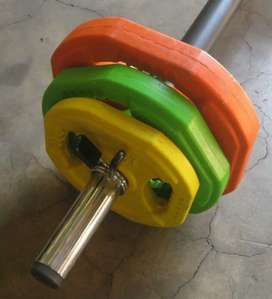 Barbell Pump Set with free 3kg