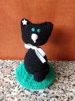 Амигуруми котенок вязанная крючком игрушка (хэнд мэйд)