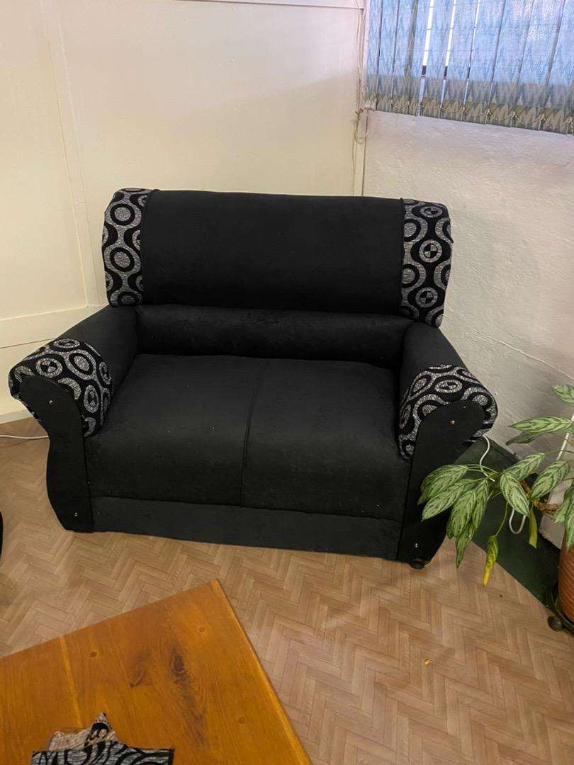 4 Seater Fabric Lounge Set 0