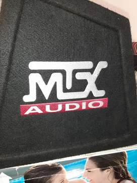 "12""MTX SUBWOOFER IN CUSTOM BOX"