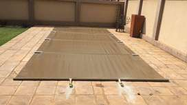 PVC Swimming pool solid covers for sale!!