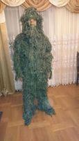 Maskowanie strój kamuflaż ghillie nowa snajperski leśny wojkowy asg