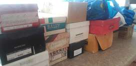 41 Shoe boxes full of stamps