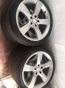 Mercedes Benz, Edition C Class, Rims with Tyres, 18 inch size