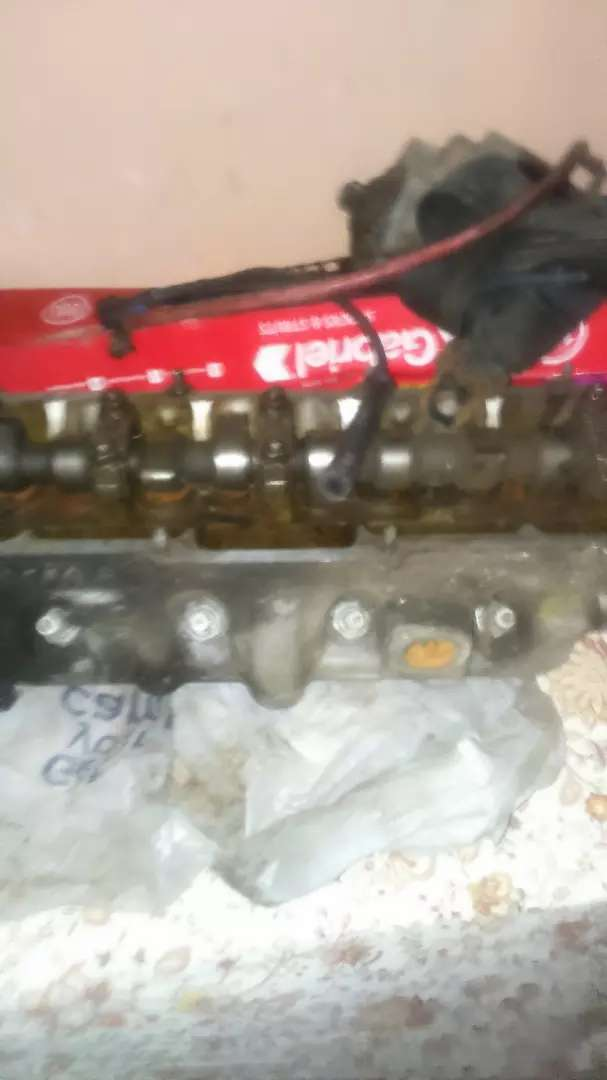 complete head with camshaft 0