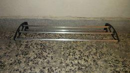 Stary aluminiowy wieszak prl