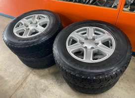 """17"""" ford ranger mags and tyres"""