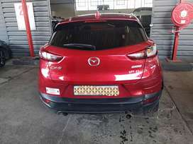 Stripping of 2017 mazda cx3 for parts with papers