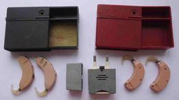 Слуховые аппараты 4 шт Электроника У-1 и У-2