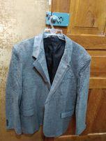 Пиджак мужской серый р.48-50